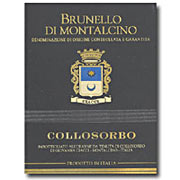 Collosorbo Brunello di Montalcino  2004
