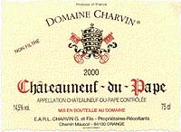 Charvin, Chateauneuf du Pape  2000