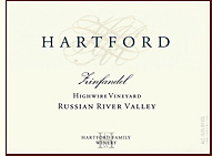 Hartford Court Zinfandel, Highwire Wineyard  2006