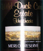 Wild Duck Creek Merlot  2000